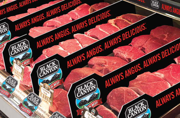 National Beef FDA approved meat cooler dividers