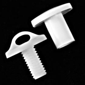 push-lock loop-screws large head