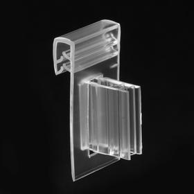 finned edge-clip