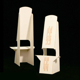 double-wing easels white